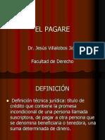 EL PAGARE - Dr. Villalobos Jión