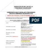 Convocatoria Sub-21 Montcada-Vinalesa 2015
