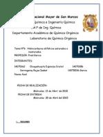 Informe 2 de Organica