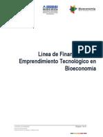 Bases Emprendimiento Tecnologico en Bioeconomia