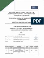 ESpecificación técnica