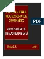 Propuesta de Aeropuerto por López Obrador