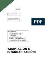 Adaptación y Estandarización en Los Mercados Internacionales