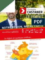 Diapositives de présentation du projet pour la région PACA