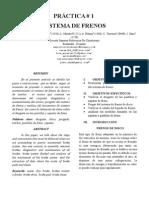 Paper Practica de Frenos Taller II