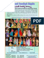 West Telugu Forum - Padamati Sandhya Raagalu - Flier