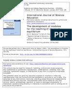 Development Chemical Equilibrium Module