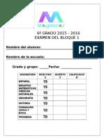 6to Grado - Bimestre 1 (2015-2016)_1.doc