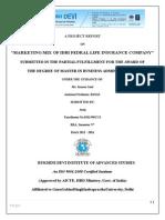 marketing mix of idbi federal life insurance company