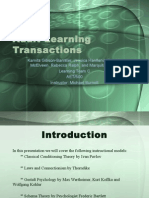 adult learning transactions