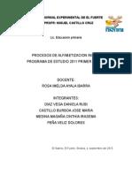 Programa de Estudio 2011