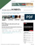 25-10-15 Piden diálogo de alto nivel con EU, por recorte de IM | El Economista