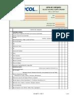 Ing-lc-005 Formato Para Elaboracion de Lista de Chequeo