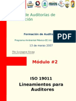 Lineamientos ISO 19011
