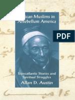 African Musilms in Antebellum America