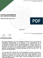 Instructivo Plantilla Bimestre Abril-Mayo 2014