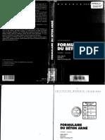 Formulaire Béton armé volume 1 de Victor Davidovici