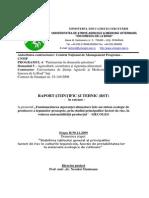Raport Stiintific Si Tehnic Etapa II-1