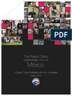 Peace Corps Mexico Welcome Book 2015 February