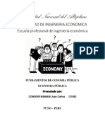 Economia Publica