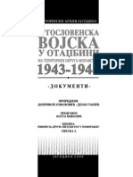 D. Jovanović, D. Tanić - Jugoslovenska vojska u Otadžbini na teritoriji okruga Moravskog 1943 - 1944 (dokumenti)