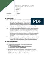 Format RPP Mapel - Workshop Man Cabang Bungin