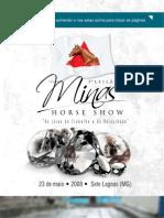 Catálogo Eletrônico Minas Horse Show 2008