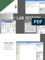 1st Lab Session