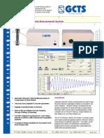 Ultrasonic Velocity Test System 65