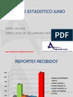 Estadísticas Junio 30