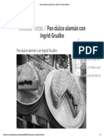 Pan Dulce Alemán Con Ingrid Grudke - Recetas – Cocineros Argentinos