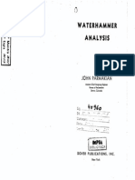 Water Hammer Analysis by J. Parmakian