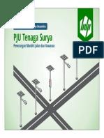 PJU Tenaga Surya