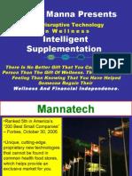 Gammel Mannatechpresentasjon på engelsk