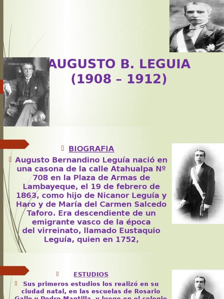 Augusto B América Del Sur Política
