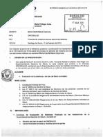 Expediente N° 0814-2015 / Informe N° 00045-2015/SADERECHOS