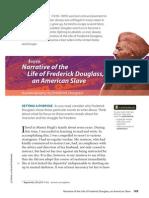 collection narrative of frederick douglass