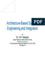 Architecture Based Systems