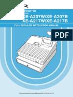 XEA207217 Full Instruction Manual