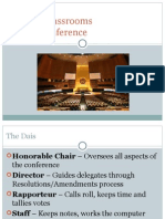 parliamentary procedure detailed