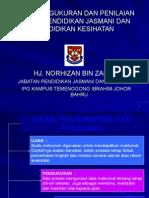 Ujian, Pengukuran Dan Penilaian Dalam Pendidikan Jasmani Dan Pk