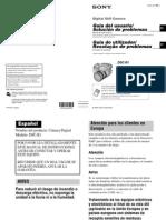 Manual_Camara Sony dsc_r1