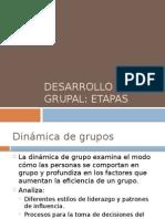 DESARROLLO GRUPAL etapas