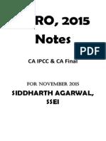 CA Final Audit Amendment