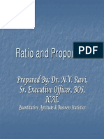 Ratio and Proportion, Ravi
