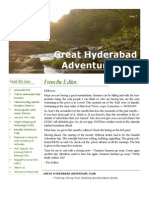 Great Hyderabad Adventure Club  Newsletter Mar 2010