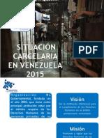Situación carcelaria en Venezuela 2015