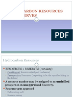 Hydrocarbon Resources and Reserves