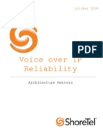 VoIP Reliability White Paper 102604