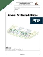 Sistemas Auxiliares Tema 1 - Sistemas de Tuberias